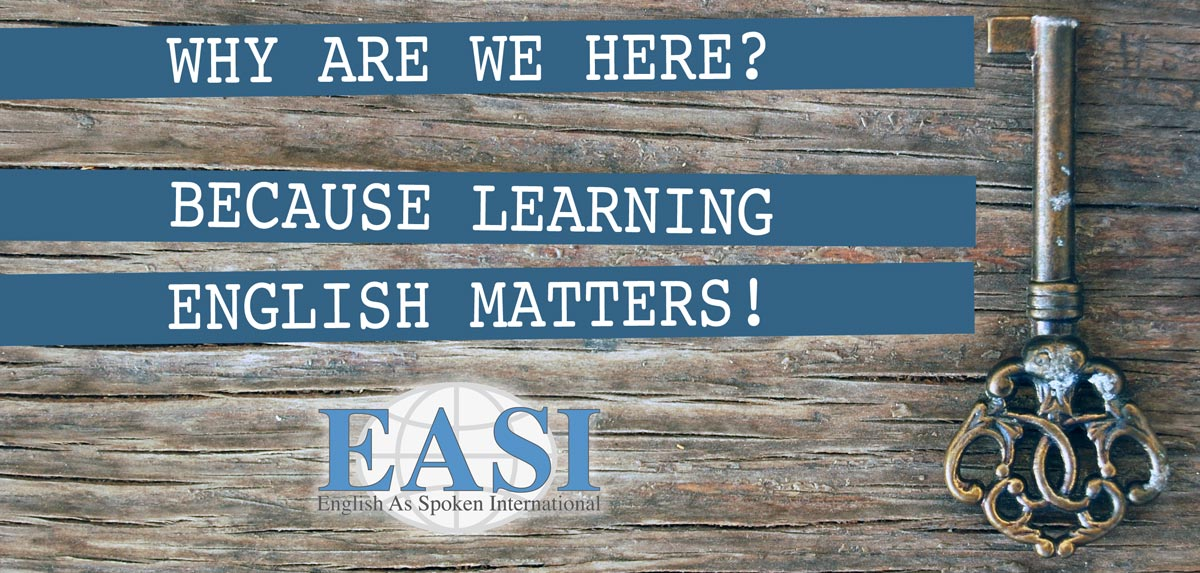 about us learning english matters