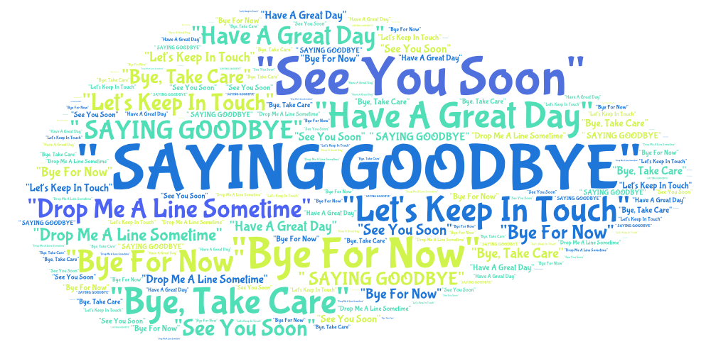 Whats Your Favorite Way Of Saying Goodbye Learning English Matters